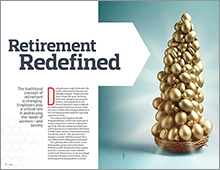 Retirement Redefined feature