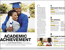 Honda Financial Services: Academic Achievement feature
