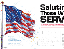 Honda: Serving Those Who Serve cover feature