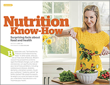 Nutrition Know-How cover feature